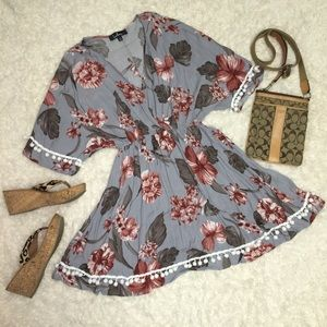 Lulu's floral tunic